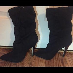ALDO black boot heels